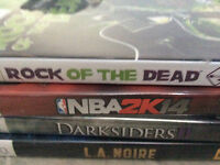4 Xbox 360 Games for $20