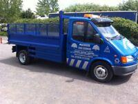 Ford transit 2.5 diesel 190 lwb tipper 2000 v reg