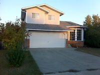 House for Rent in Strathmore- address is 264 Maple Grove Cres.**