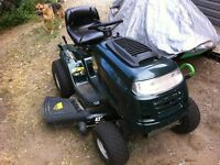 2013 yard works riding lawn tractor
