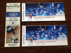 TORONTO MAPLE LEAFS GAME DAY USED TICKET STUBS ( 3 - 1 PLAYOFF)