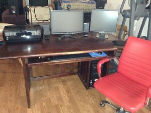 Complete Computer Office,printer &desk&chair