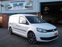 2013 13 VW CADDY MAXI 2.0 TDI 140BHP LWB AIR CON ELECTRIC PACK SPORTLINE LOOKS