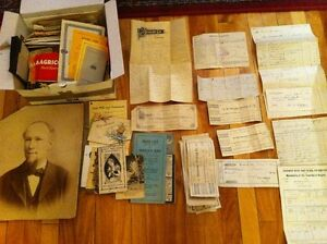 Large Brockville Area Ephemera Lot