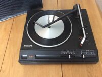 Philips record player turntable vintage 251 model