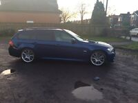 BMW 320 M SPORT BUSINESS EDITION TURBO DIESEL ESTATE AUTOMATIC 59 PLATE