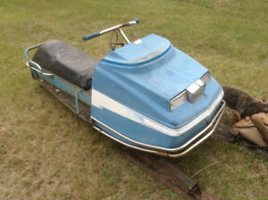 1970's snojet snowmobile