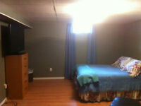 FURNISHED ROOM IN BASEMENT..CENTRAL LOCATED