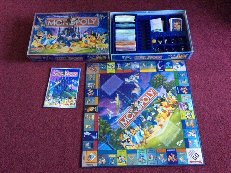 Disney Monopoly Reduced In Longridge Lancashire Gumtree