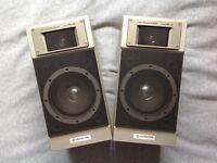 Hitachi HiFi Monitor Speakers - 80s Classic!