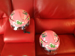Selling 2 Toddler Snow/Skate Helmets with Clear Visors