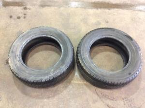 Pair of 215/60/r15 Toyo Versado Tires