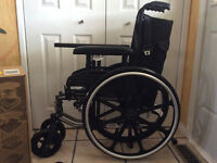 Almost New Stylus LS Wheelchair (complete w/Solution 1 Cushion)
