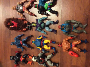He-Man Masters of The Universe Toy Figure Lot