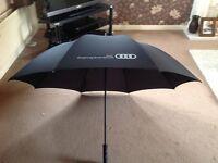 Audi gold umbrella brand new