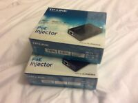 Brand new 2x TP-Link PoE injector