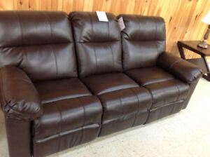 Brand new Bonded Leather Reclining Sofa!