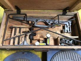 Dunlop CG4/5-6. Wheel alignment gauges.