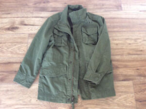 BOYS GAP MILITARY STYLE JACKET SZ-S (8)  **NEW CONDITION**