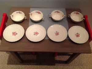 Spode saucers and bowls