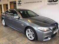 2013 BMW 5 Series 2.0 520d M Sport 4dr Diesel grey Automatic
