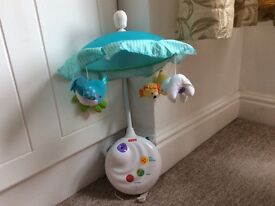 Fisher Price Precious Planet 2 in 1 Projection Cot Mobile