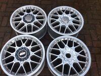 """Audi TT 3.2 18"""" BBS Split rim V6 alloy wheel GENUINE ORIGINAL"""