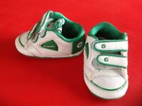 Retro Dunlop Green Flash trainers