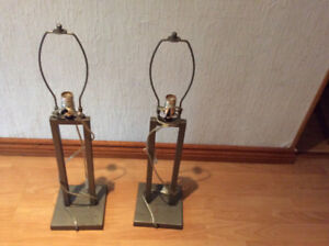 HEAVY QUALITY LAMP STANDS