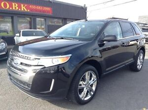Ford EDGE LIMITED-NAVIGATION-AWD-TOIT PANORAMIQUE 2011