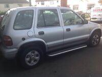 Kia Sportage No Mot or Tax Runs on LPG 1999 £200