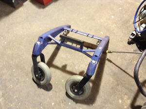 P222 SE wheelchair frame with wheels, good condition $5