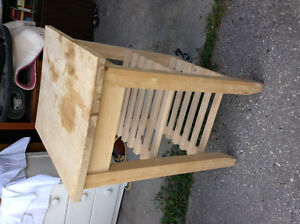 Ikea butcher block on wheels for sale London Ontario image 2