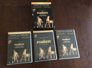 Coffret DVD le pianiste