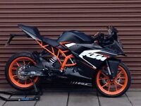KTM RC 125 ABS 2016. Only 2425miles. Delivery Available *Credit & Debit Cards...