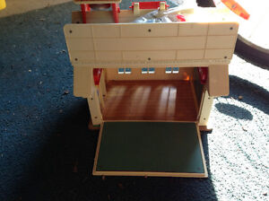 Vintage fisher price school house and house for sale London Ontario image 2