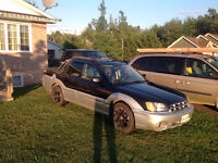 NEW PRICE 2003 Subaru Baja SUV, trade for side by side