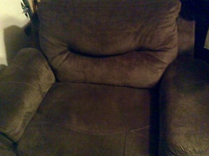 Two beautiful oversized Recliners