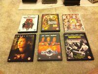 Assorted DVDs