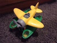 Green Toys Seaplane, yellow