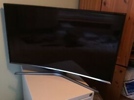 Samsung UE40J6300AK 40 inch Curved Smart Television in Perfect Condition