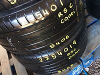 TYRE SHOP 275/40/19 255/35/19 255/30/19 225/40/18 215/45/17 225/45/18 245/35/18 used Tyres runflat