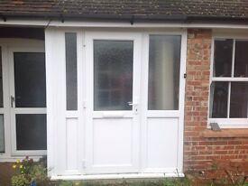 Double glazed porch unit