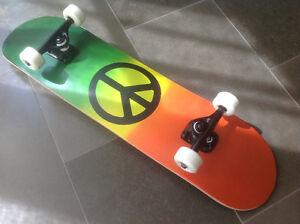KROWN Peace Sign Skateboard BRAND NEW