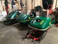 wanted John Deere snowmobile for parts or complete