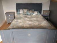 Shabby chic bedroom set