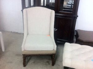 Vintage style accent chair - delivery available