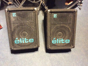 Yorkville Elite EX161M passive monitors