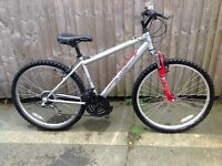 Apollo XC 26 front suspension mountain bike serviced and ready to ride