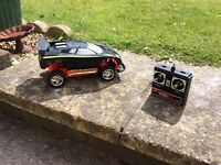 Various items , Garden Roller £30, Remote Control Car £15 and Two Sun Loungers £ 50